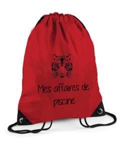 Sac Piscine Rouge
