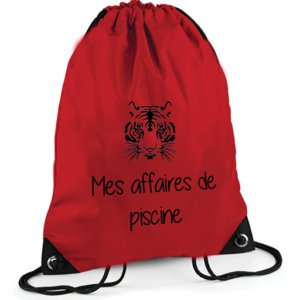 Sac Piscine Rouge