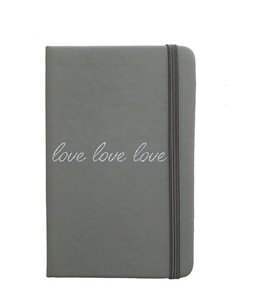 Carnet Gris Love