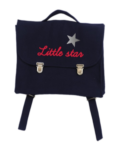 Cartable Marine Little Star Rouge