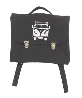 Cartable Anthracite Van Blanc