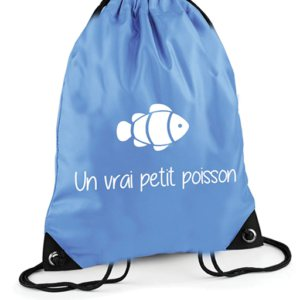 Sac Piscine Bleu