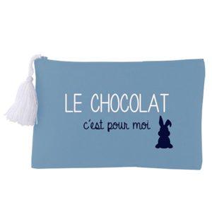 Pochette Zippée Lagon Le Chocolat c'est pour moi